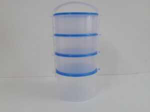 Czworak plast.niebieski